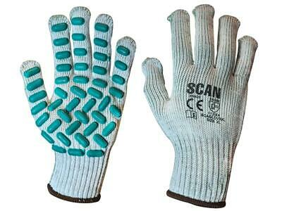 Scan SCAGLOVRXL Vibration Resistant Latex Foam Gloves - Extra Large (Size 10)