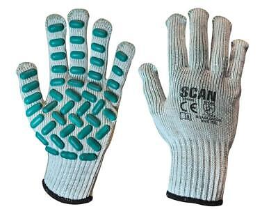 Scan SCAGLOVRXX Vibration Resistant Latex Foam Gloves - Extra Extra Large (Size