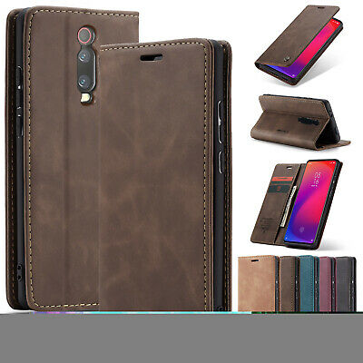 For Xiaomi Mi 9 / 9T Case Redmi K20 Pro Magnetic Flip Leather Stand Wallet Cover