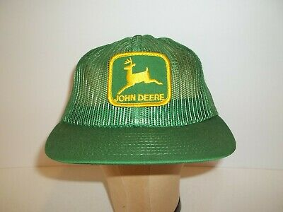 Vintage Louisville Ky Mfg Co John Deere Adjustable Snap Back Hat Cap