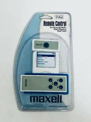 iPod Remote Control and Receiver Maxell P-1 3G or 4G iPod Photo or iPod mini