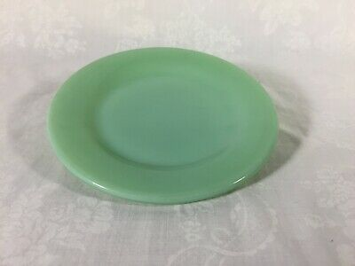 "One Vintage Fire King Jadeite Plate 6 3/4"" Oven Ware Made in U.S.A. No. 16"