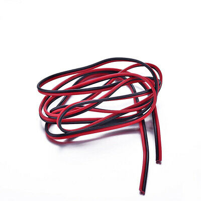 12-20 AWG Gauge Soft Silicone Flexible Wire Cable 1 Meter Red + 1 Meter Black