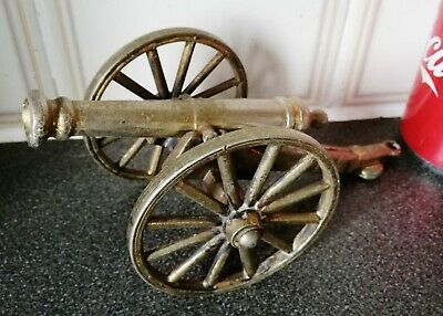Lovely Solid Brass Miniature Napoleon Cannon Barrel Model.H-8.5xL-15cm/W-500g
