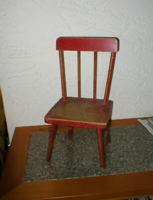 Child's Antique Wood Chair - Early 1900's