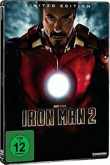 Iron Man 2 (Steelbook) [Limited Edition] [2 DVDs] de Jon Fav... | DVD | état bon