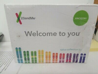 23andMe DNA Test - Ancestry Personal Genetic Service exp 10/2019 NO FEE