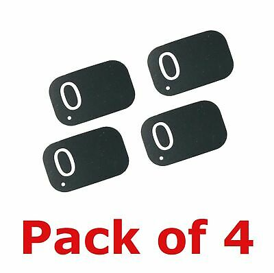 4 Pack Size #0 Dental Air Tech Type X-Ray Phosphor Plates PSP FDA Approved