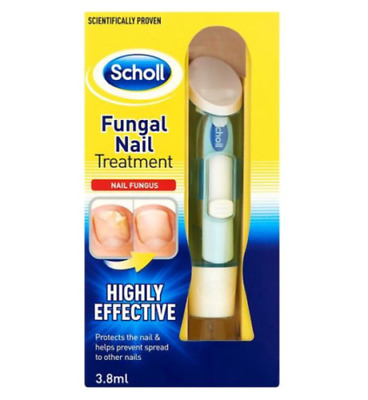 SCHOLL Fungal Nail Treatment 3.8ml HIGHLY EFFECTIVE KILL FUNGUS 99.9%