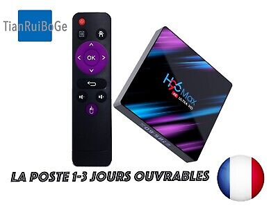 TV BOX H96 Max Android 9.0 Quad Core 4K HD 2.4G/5G WiFi BT4.0 lecteur Multimédia