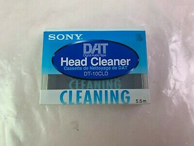 SONY DAT Head Cleaner Tape DT-10CLD 5.5m Brand New Sealed