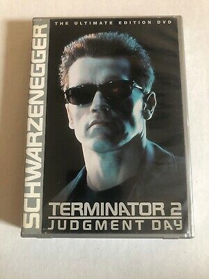 1991 single-sided original video poster rolled Terminator 2: Judgment Day