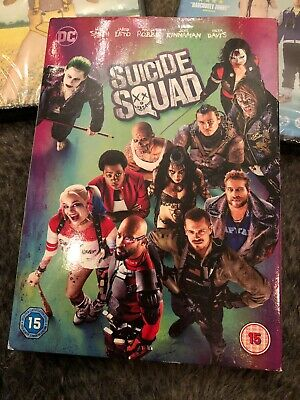 3 New Dvds Suicide Squad/ Bruno/ The Young Offenders Buy Now £10.00
