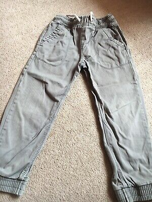 Boys Grey Joggers Casual Trousers Age 5yrs Matalan