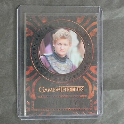 Game Of Thrones Inflexions Laser Cut L29 Jack Gleeson Joffrey Baratheon $$$