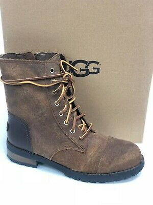 97b10338c7b UGG WOMEN'S KILMER II Leather Chipmunk Lace Up Military Style Boots ...