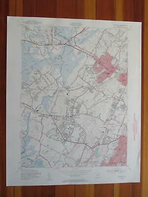 Caldwell New Jersey 1956 Original Vintage USGS Topo Map