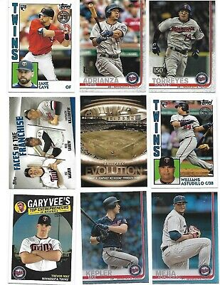 2019 MINNESOTA TWINS Inserts & Parallels Lot of 13 cards Rainbows, Gold Foils ++