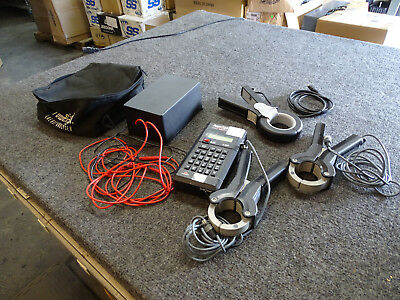 PowerSight PS 3000 Power Analyzer w/ 3 Clamp Probes & LDC Line-to-DC Converter