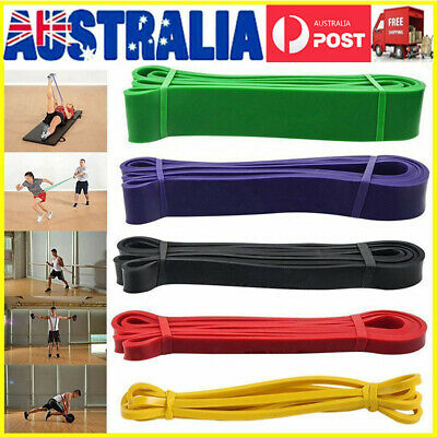 Heavy Duty Resistance Band Strength Loop Power Gym Fitness Exercise Yoga Workout