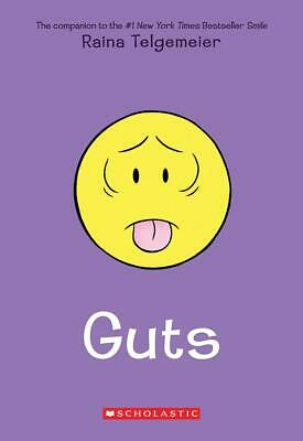 Guts Book (Paperback) by Raina Telgemeier (Fast Delivery)