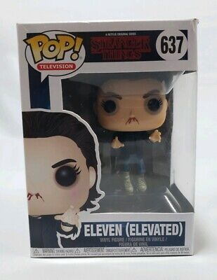Stranger Things #637 - Eleven (Elevated) - Funko Pop! Television (Brand New)