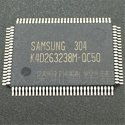 BRAND NEW Samsung K4D263238M-QC50 128M DDR SDRAM 1PCS NEW