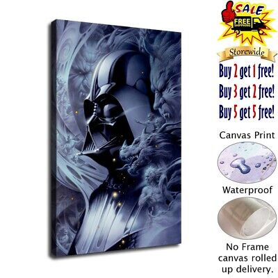 star wars poster HD Canvas prints Home Decor Wall art picture 12X18inch