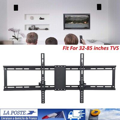 """Support LCD TV mural inclinable 32""""-85"""" 82-217cm 32 40 42 46 50 52 55 75 85 FR"""