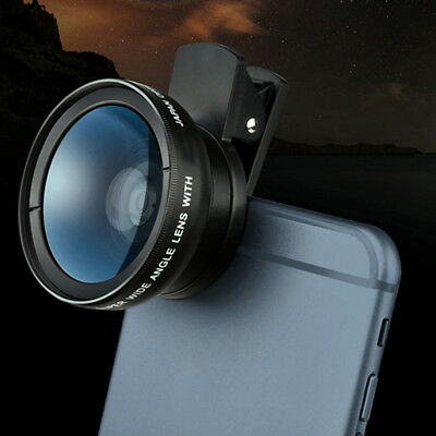 0.45x Wide Angle Lens With 12.5x Macro Lens Super HD For Smart Phone Iphone