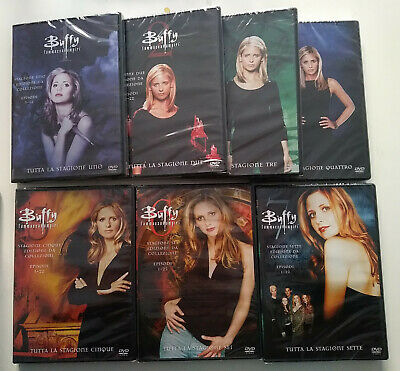 Buffy - Stagioni 1 - 7 (39 DVD) - ITALIANI ORIGINALI SIGILLATI -