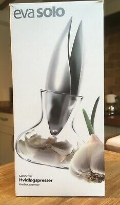 Eva solo New Easy Clean Stainless Steel Garlic Press