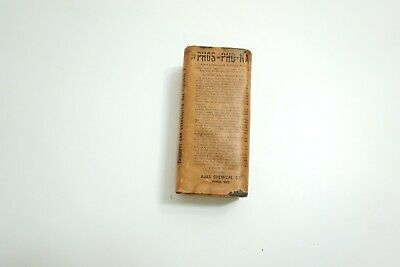 Antique Sealed Phos Pho Na Ajax Chemical Liver And Kidneys Quack Medicine Tin