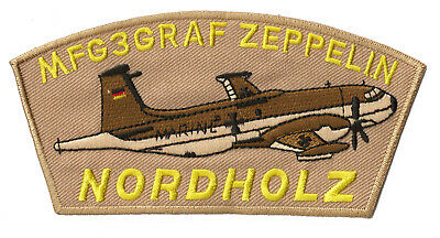 Patche écusson Nordholz zeppelin aviation patch thermocollant transfert