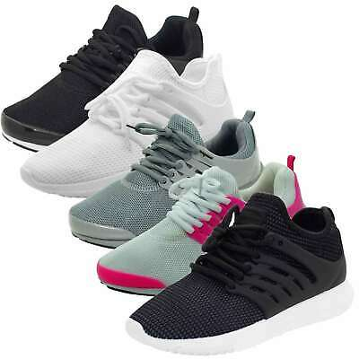 Women Trainers Laceup Breathable Sports Running Gym Casual Sneakers Ladies Shoes