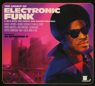The Legacy Of Electronic Funk - 3CD Set