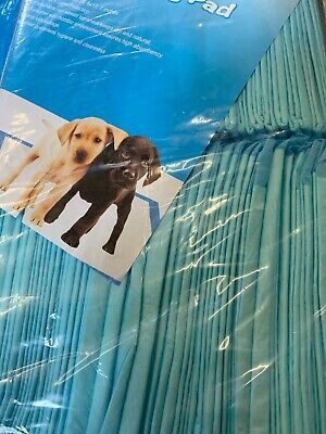 """100 Large Puppy Training Trainer Pads Toilet Pee Wee Mats Dog Cat 23.6 X 17.7"""""""