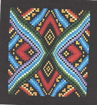ILLUSION BARGELLO STRIP Pieced Lockwood Quilt Pattern