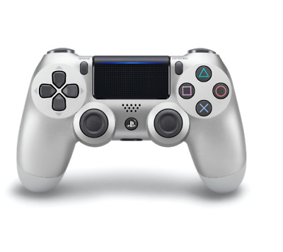 Sony PS4 DualShock 4 Version 2 Wireless Controller - Silver - Free/Fast Post