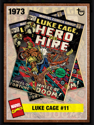 Topps Marvel Collect Card Trader Archives Luke Cage #11  [Digital]