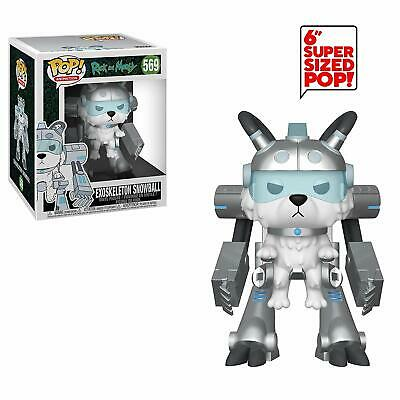 Rick And Morty - Exoskeleton Snowball - Super Sized Funko Pop - Brand New 40249