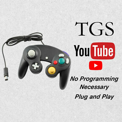 New Replacement Black Game Pad Remote Controller Nintendo GameCube NGC