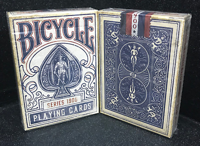 Blue Ellusionist Bicycle 1900 Playing Cards~Unreleased Deck~Free Shipping