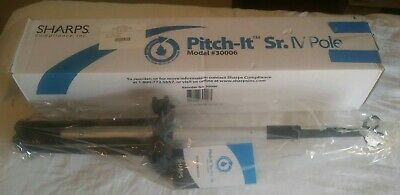 SHARPS Pitch-it SR. IV POLE Wheels Foldable and Adjustable MODEL #30006 New