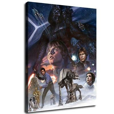 star wars poster HD Canvas prints Home Decor Wall art picture 12X16inch