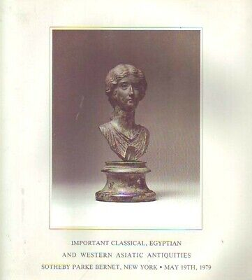 Sothebys Egyptian,Western Asiatic Antiquities NY 5/19/79 Sale 4253- R