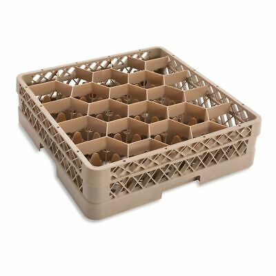Traex TR11G Beige 20 Compartment Glass Rack with Extender