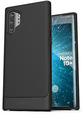 Samsung Galaxy Note 10 Plus Case Slim Cover Black Protective
