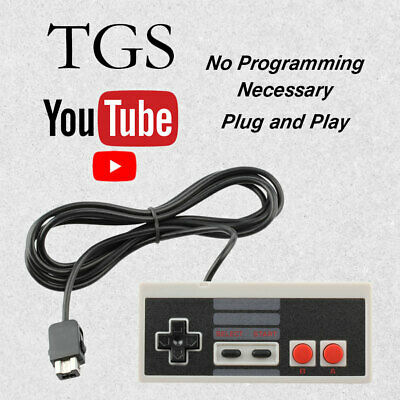 New Replacement Wired Game Pad Remote Controller Nintendo NES Classic Console
