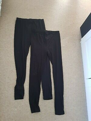 New Look over the bump Maternity Leggings Small x2